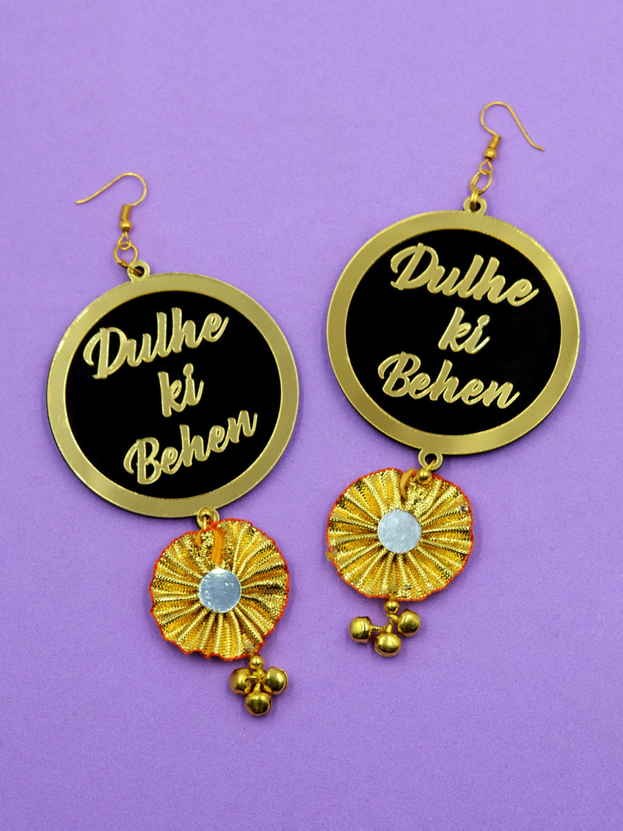 Dulhe ki Behen Gota Earrings