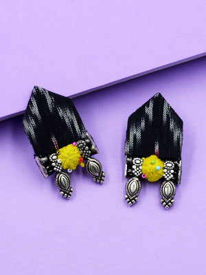 Meher Antique Ikat Earrings
