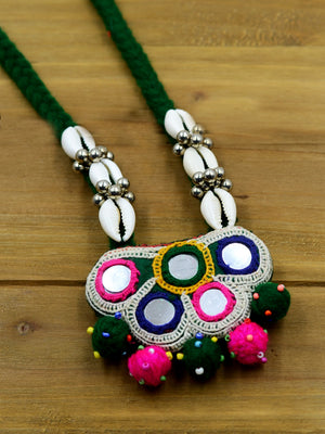Boho Kutchy Art Necklace 38
