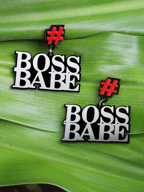 Boss Babe Earrings