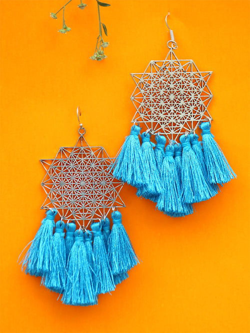 Koena Tassel Earrings