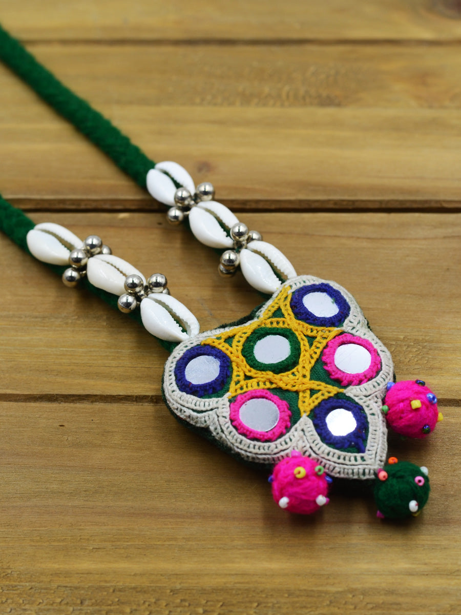 Boho Kutchy Art Necklace 11