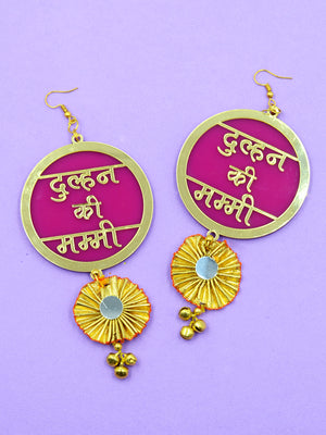 Dulhan ki Mummy Gota Earrings