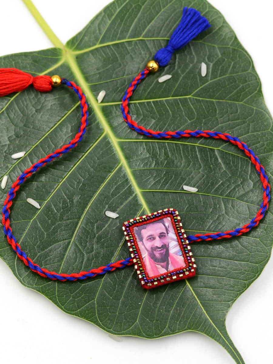 Customised Photo Rakhi (Rectangle)