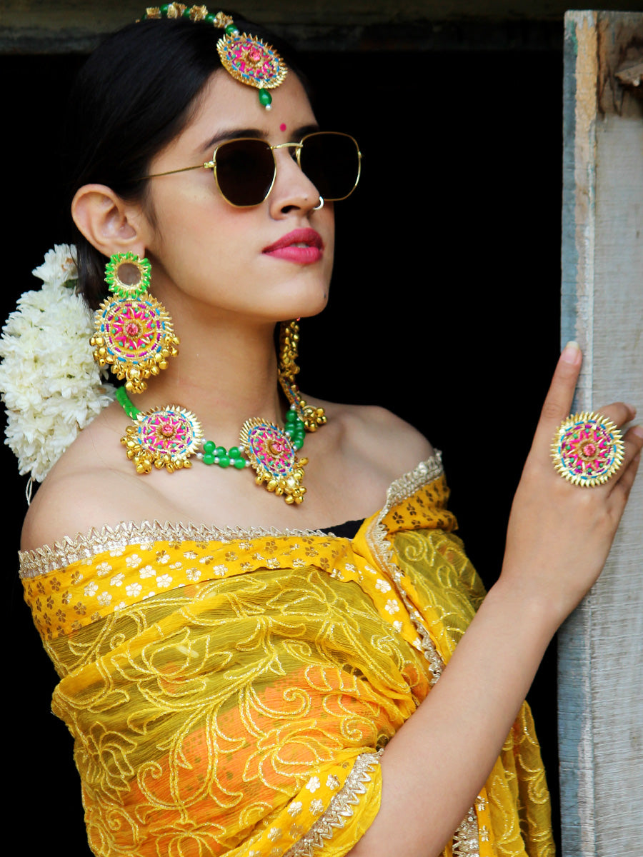 Saira Gota-Patti Jewellery Set