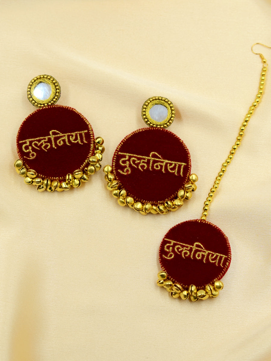 Dulhania Embroidered Set