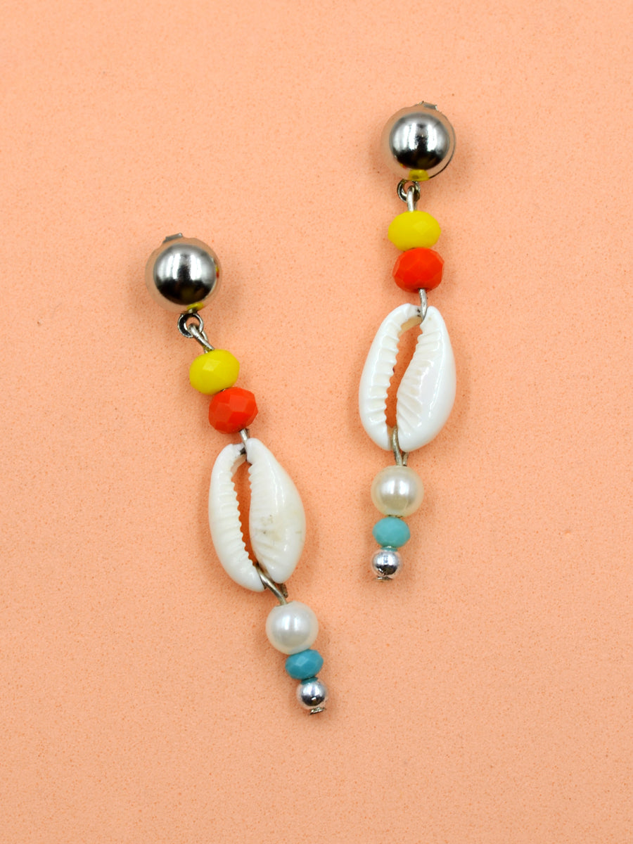 Arianna Shell Bead Earrings