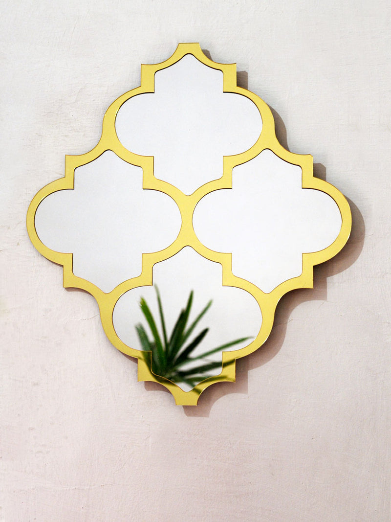 Sheesh Mahal Decorative Mirror, a contemporary mirror wall hanging from our wide range of quirky, bohemian home decor products like wall decor, wall art, thread art, cushion covers and more.