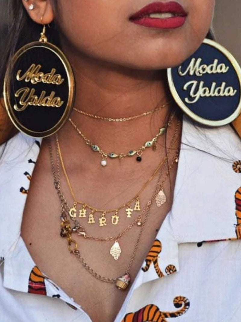 Customised Earrings (Dope Style)