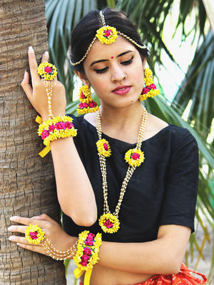 Parineeti Floral Jewellery Set