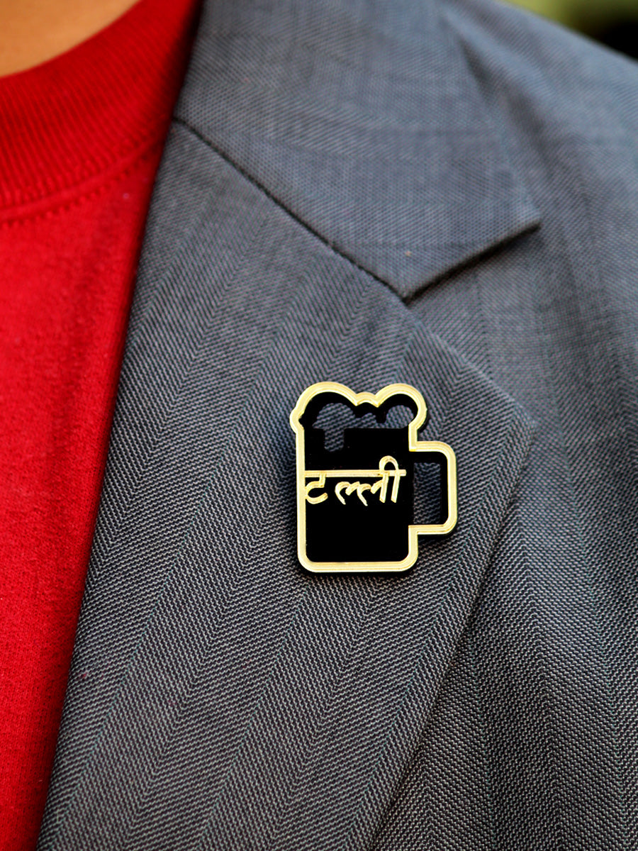 Talli Brooch, a handmade statement brooches from our wide range of latest quirky collection of brooches for men & women.