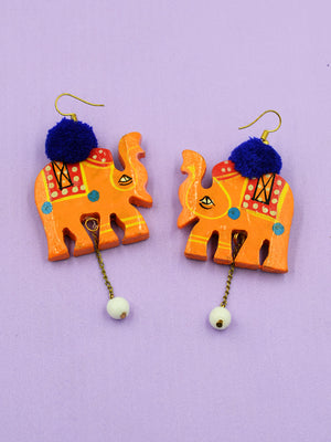 Elephant Pop earrings