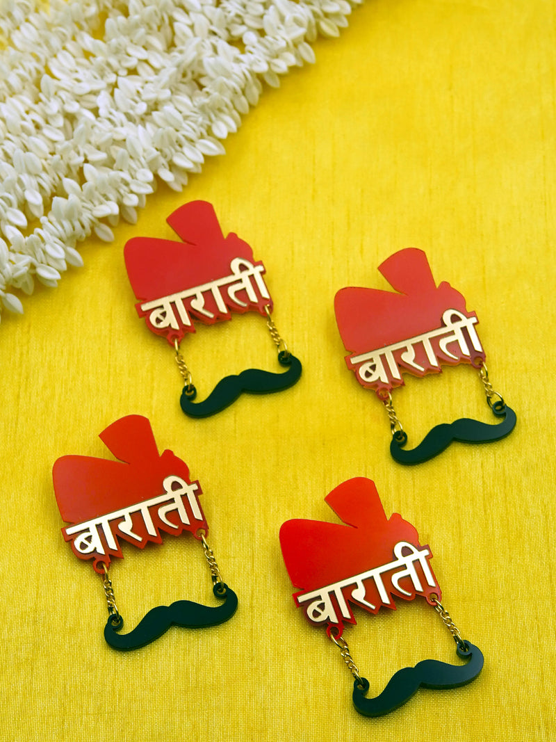Barati Brooch Set of 4