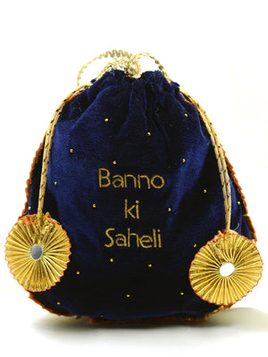 Banno ki Saheli Embroidered Gota-patti Potli