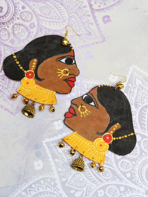 Aryahi Earrings by kraftedwithhappiness