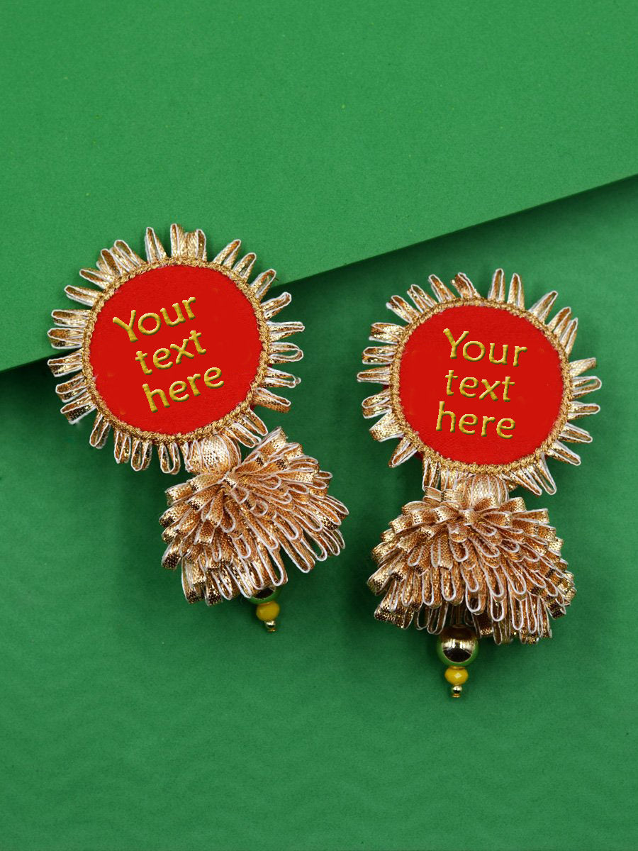 Customised Gota Patti Jhumka