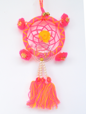 Dream-Catcher Zipper Charm