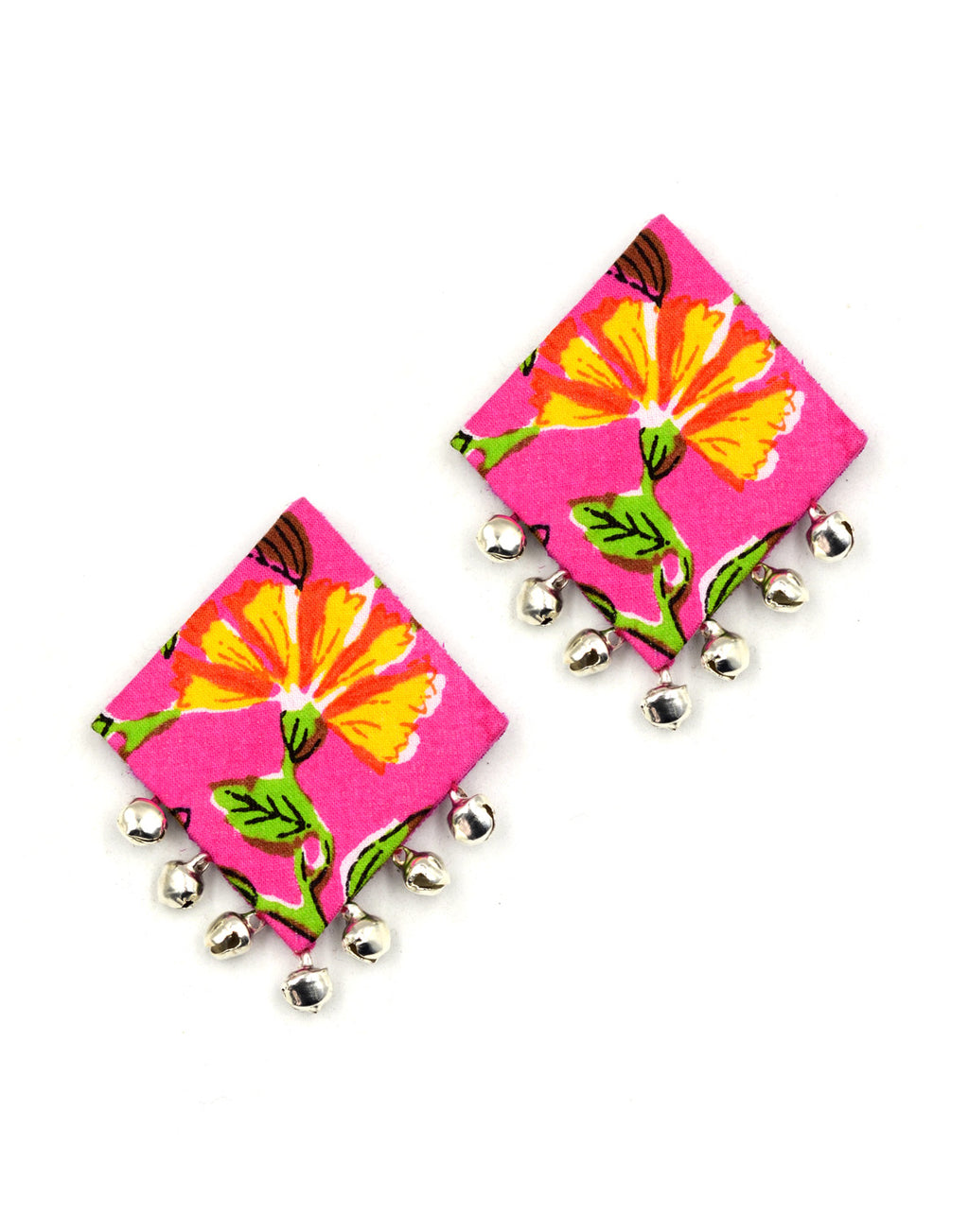Gulabi Ghungroo Earrings