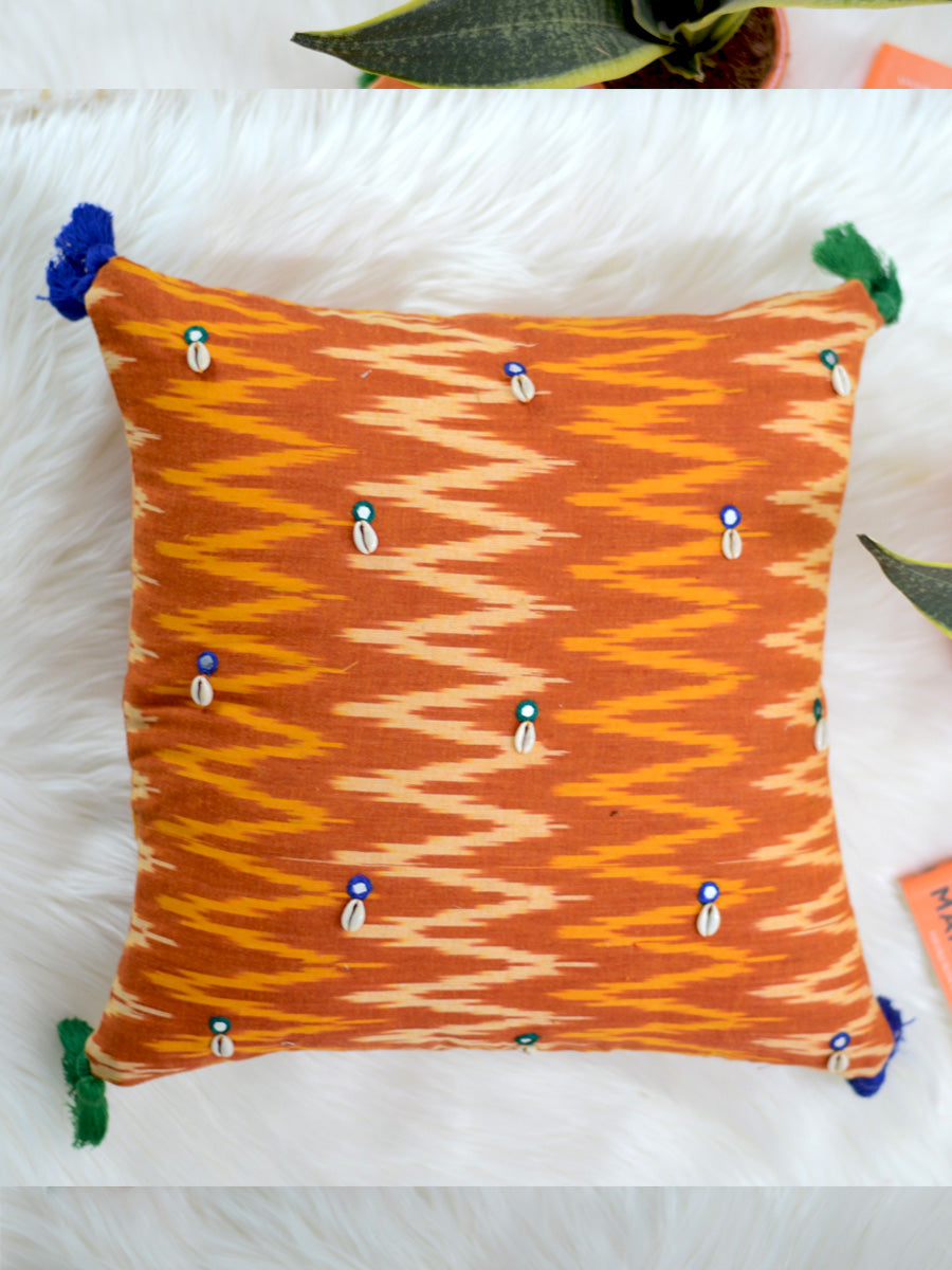 Growth Cushion Cover (Orange/Mustard)