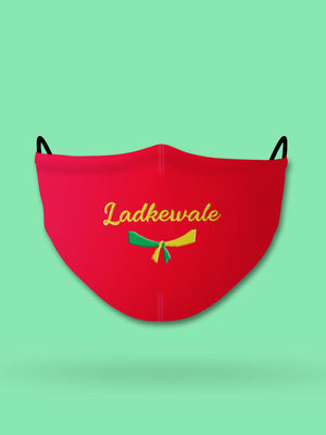 Ladkewale Embroidered Wedding Face Mask