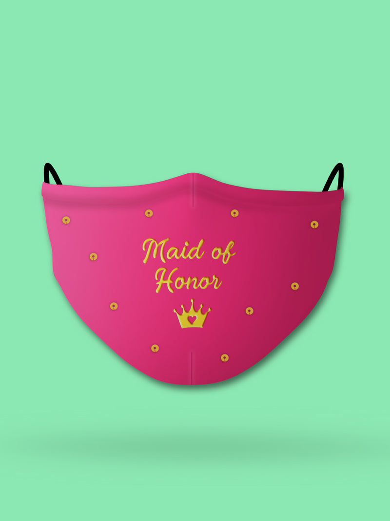 Maid of Honor Wedding Face Mask