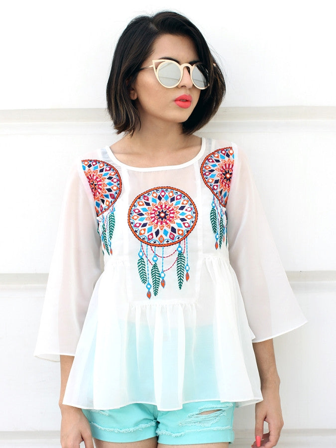 Nitaara Dream-catcher Top