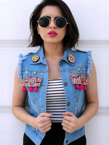Sasswati Denim Jacket (Medium)