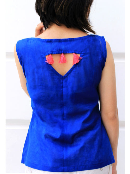 Syna Embroidered Top