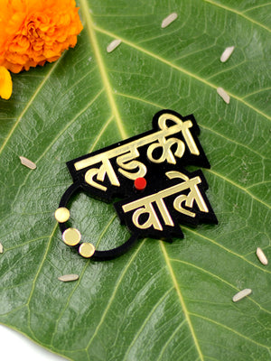 Ladkiwale Brooch Set of 2