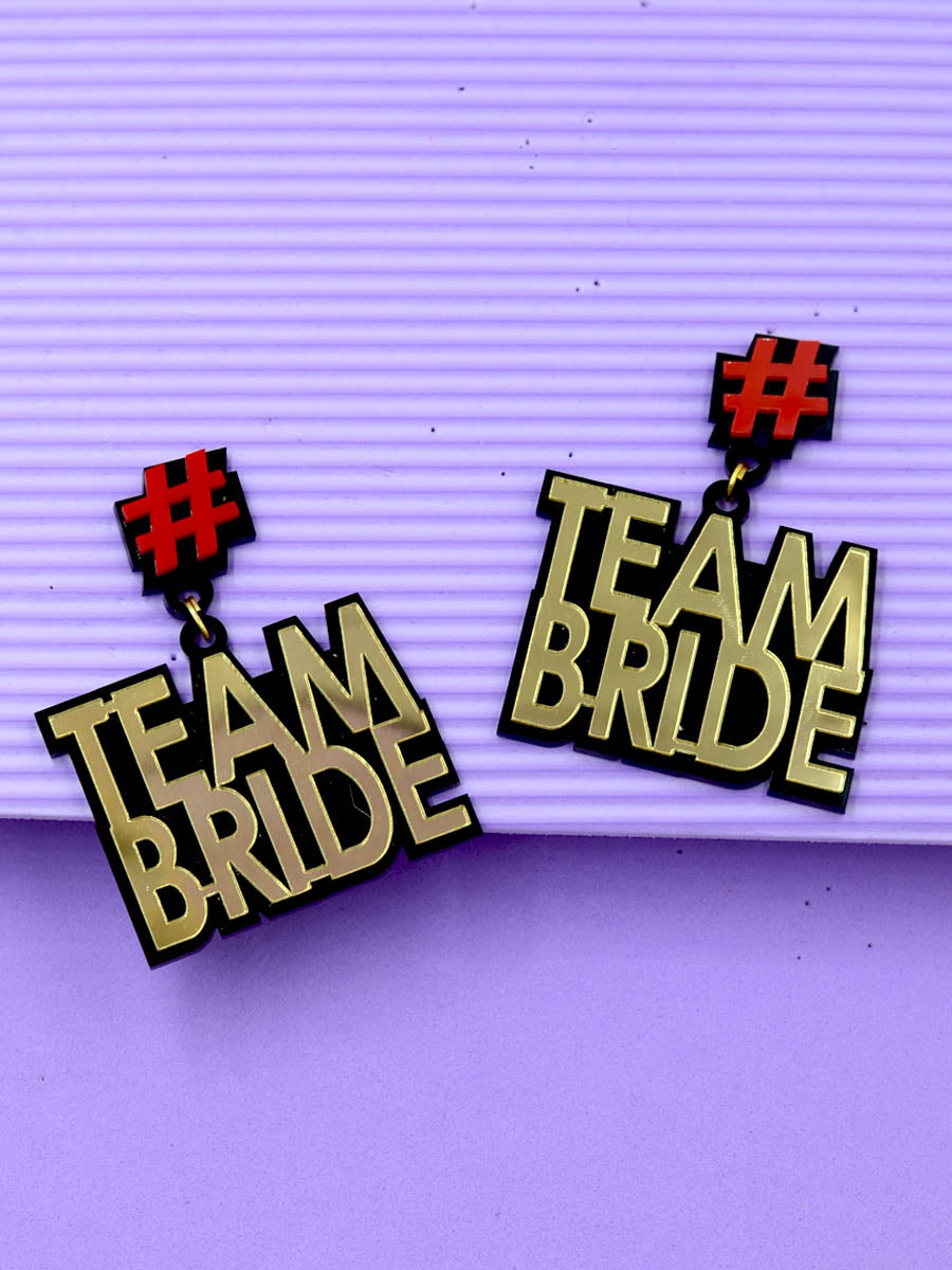 Team Bride Earrings
