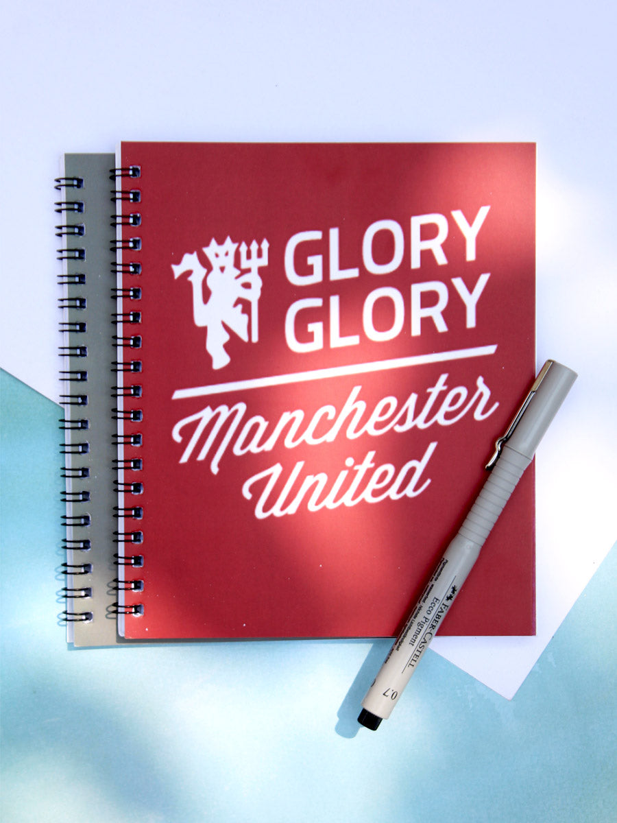 Glory Glory Man Utd. Notebook