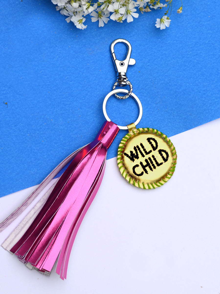 Wild Child Keychain Bagcharm