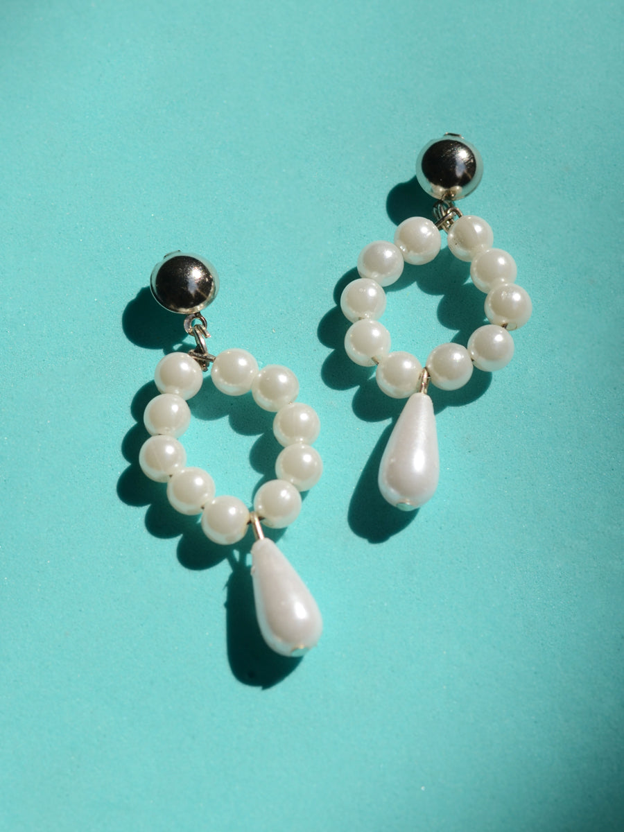 Maya Pearl Drop Earrings