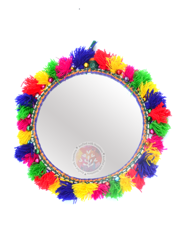 Boho Decor Round Mirror 1 (Small)