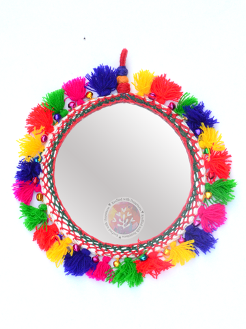 Boho Decor Round Mirror 2 (Small)