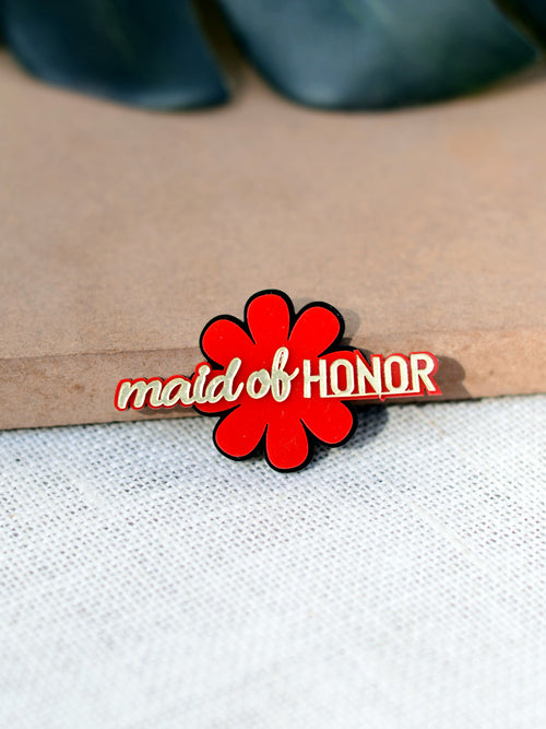Maid of Honor Brooch