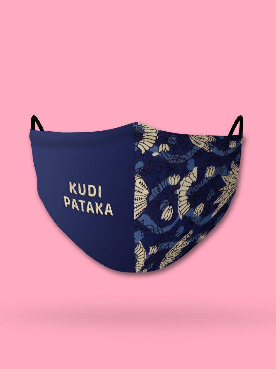 Kudi Pataka Embroidered Face Mask