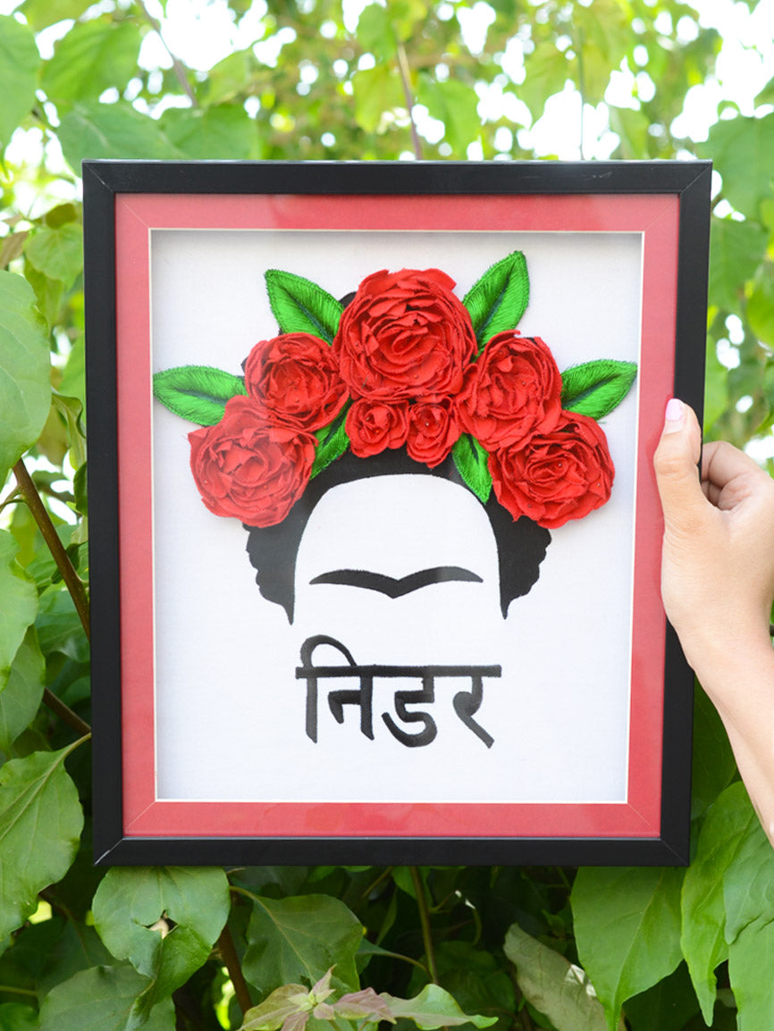 Nidar Frida Kahlo Wall Art