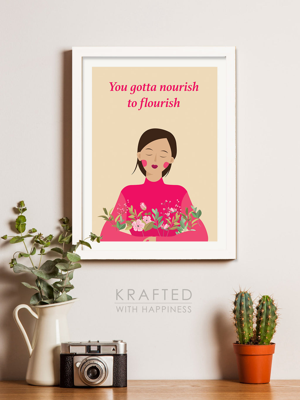 Nourish to Flourish Wall Art
