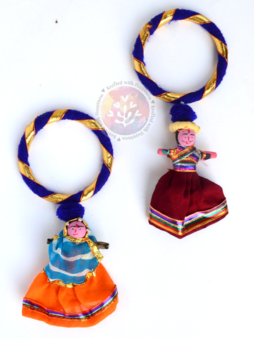 Puppet Party Bangles (Set of 2) - Blue