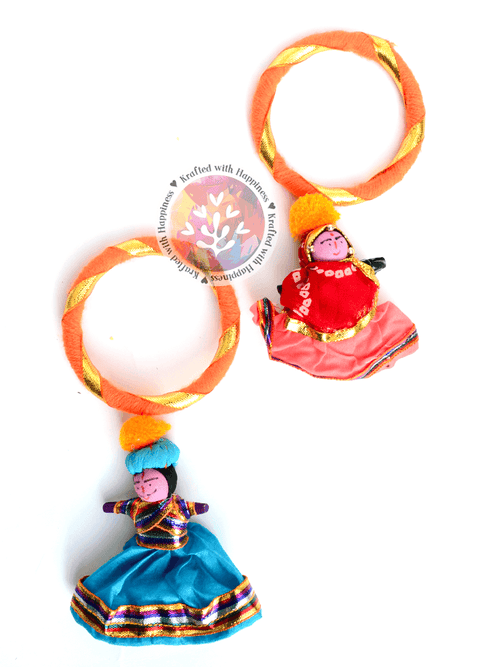 Puppet Party Bangles (Orange)