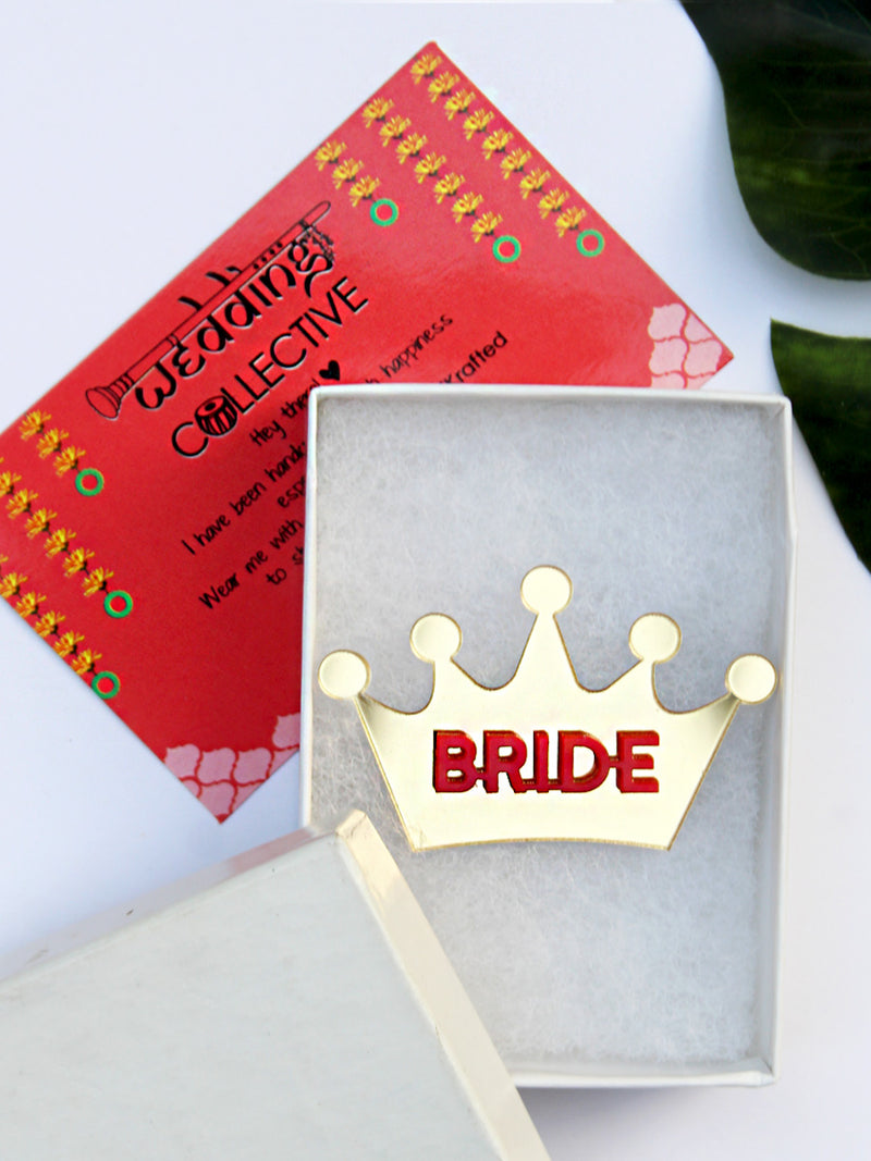 Bride Brooch
