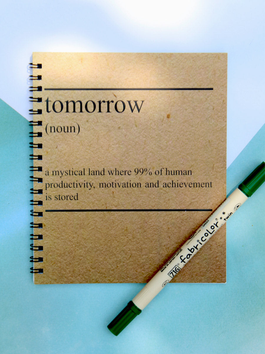 Tomorrow Notebook