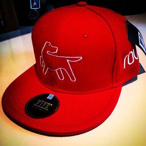 Full Back Baseball Cap - Red
