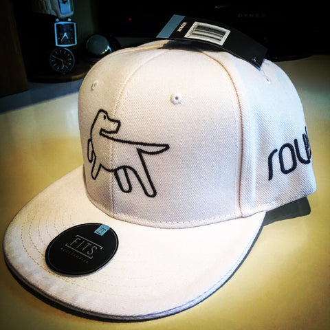 Full Back Baseball Cap - White
