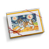 Akita Starry Night Notecard Set