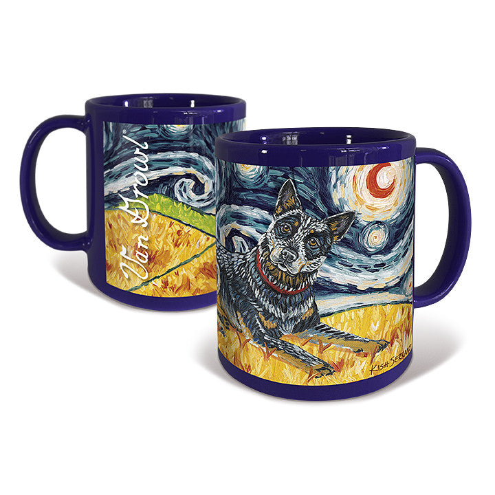 Australian Cattle Dog Starry Night Mug