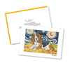 Basset Starry Night Notecard Set