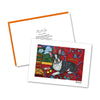 Boston Terrier Muttisse Notecard Set