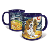 Basset Hound Starry Night Mug